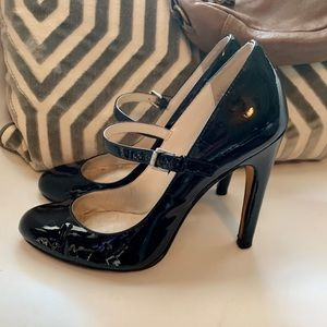 Michael Kors Stunning Leather Heels Sz 7 1/2